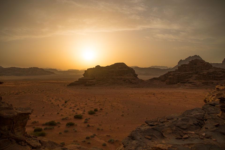 """Sunset across Wadi Rum"" by Emma Jones"
