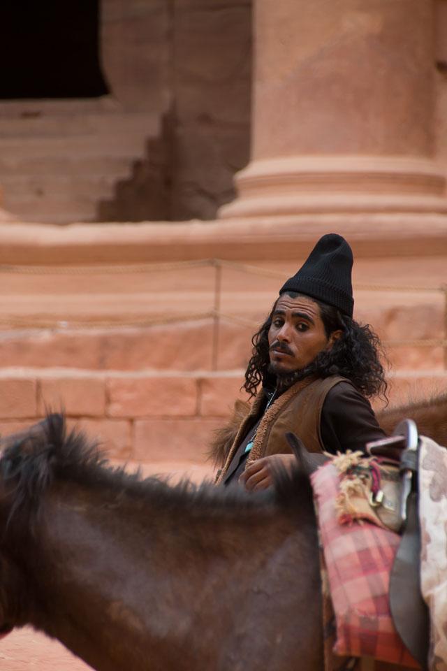 """""""Bedouin by his Horse"""" by Emma Jones"""
