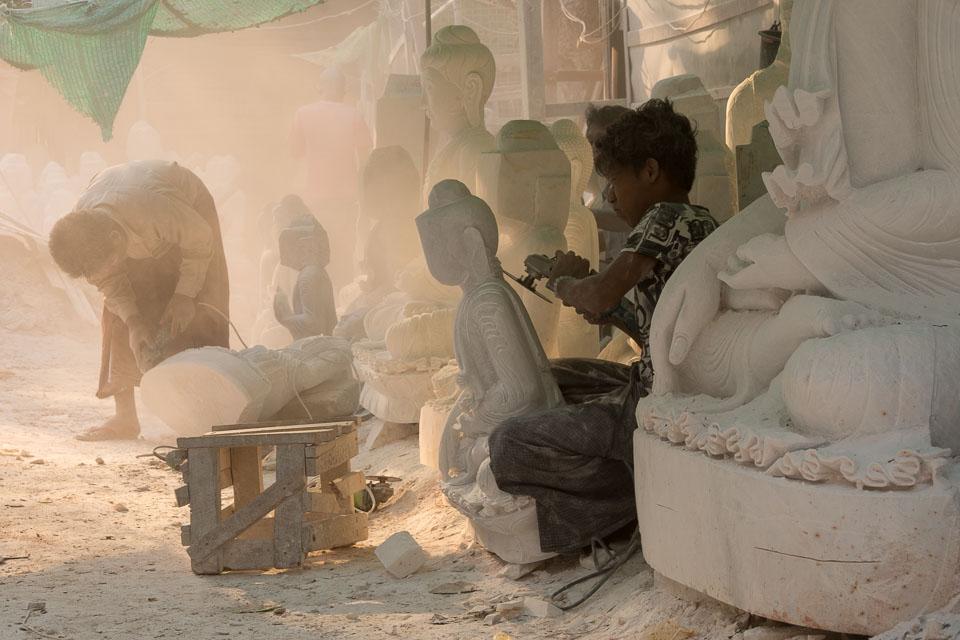 """Burmese Stone Masons"" by Emma Jones"