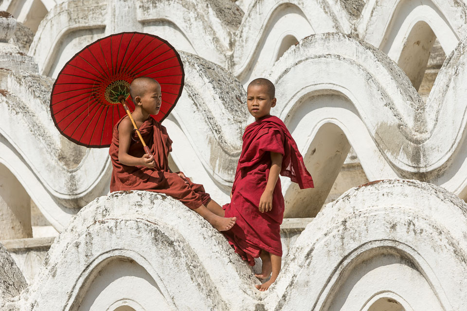 """Two Monks"" by Neil Cordell"