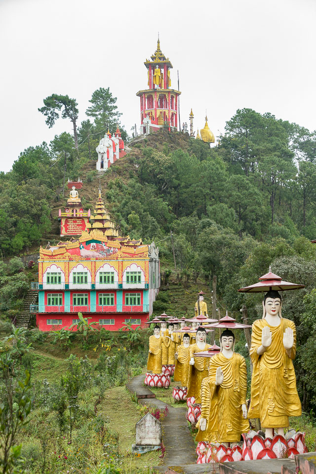 """""""Massive Statues at the Hill Top Monastery"""" by Neil Cordell"""