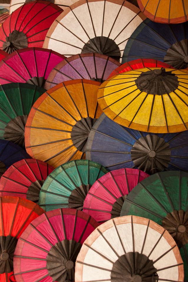 """Colourful Umbrellas"" by Emma Jones"
