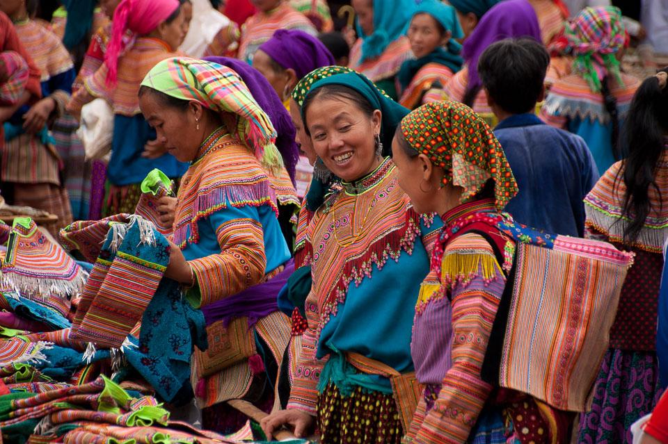 """""""Hmong Flower Women"""" by Emma Jones"""