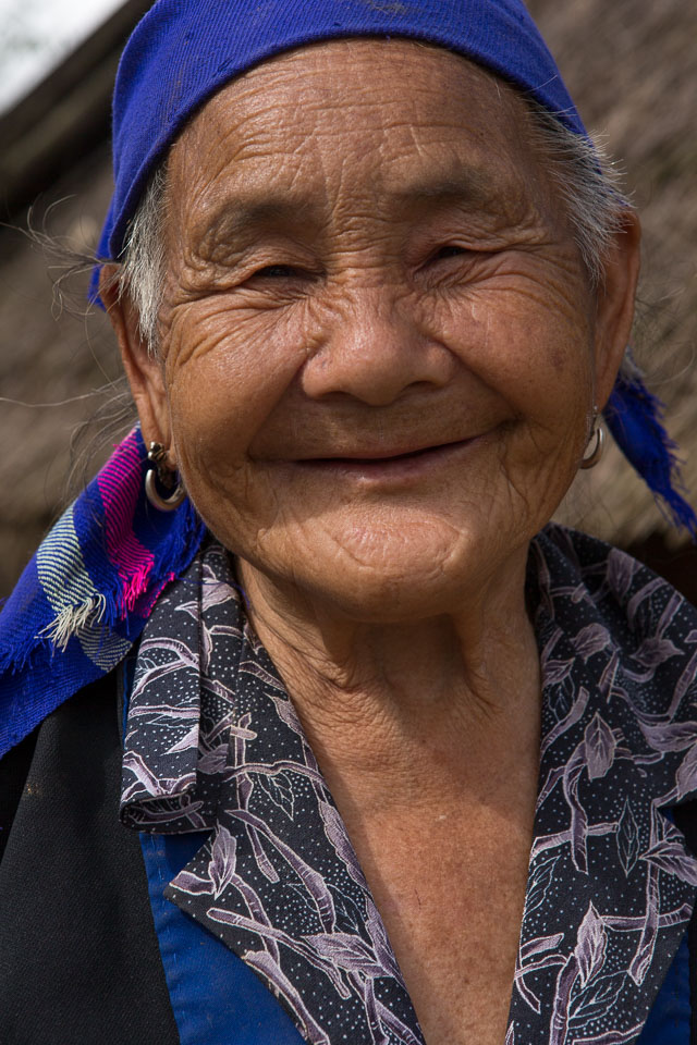 """Old Lao Woman"" by Neil Cordell"