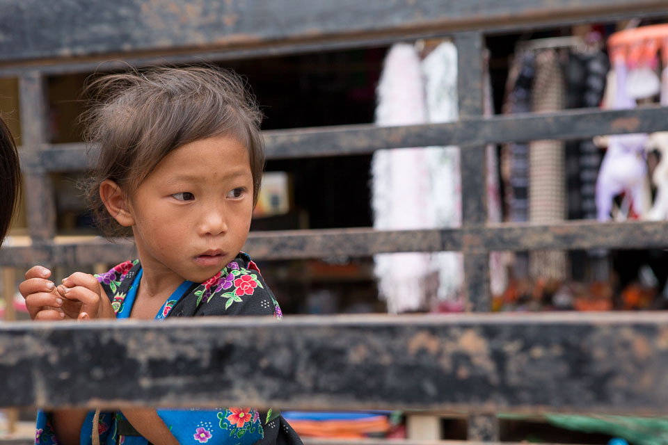 """Lao Child on a Truck"" by Neil Cordell"