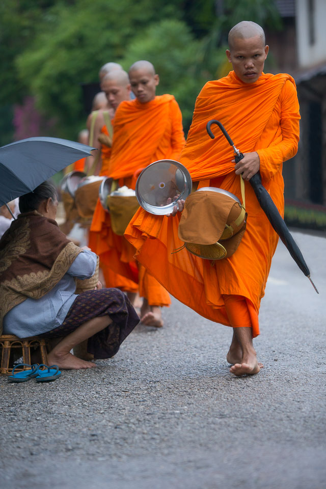 """""""Collecting Alms on a Rainy Day"""" by Neil Cordell"""
