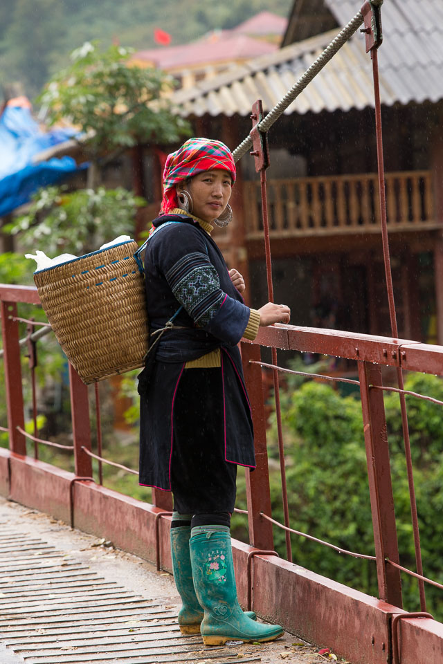 """Woman worker in Sapa"" by Neil Cordell"