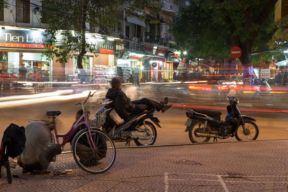 """Hanoi Street at Night"" by Neil Cordell"