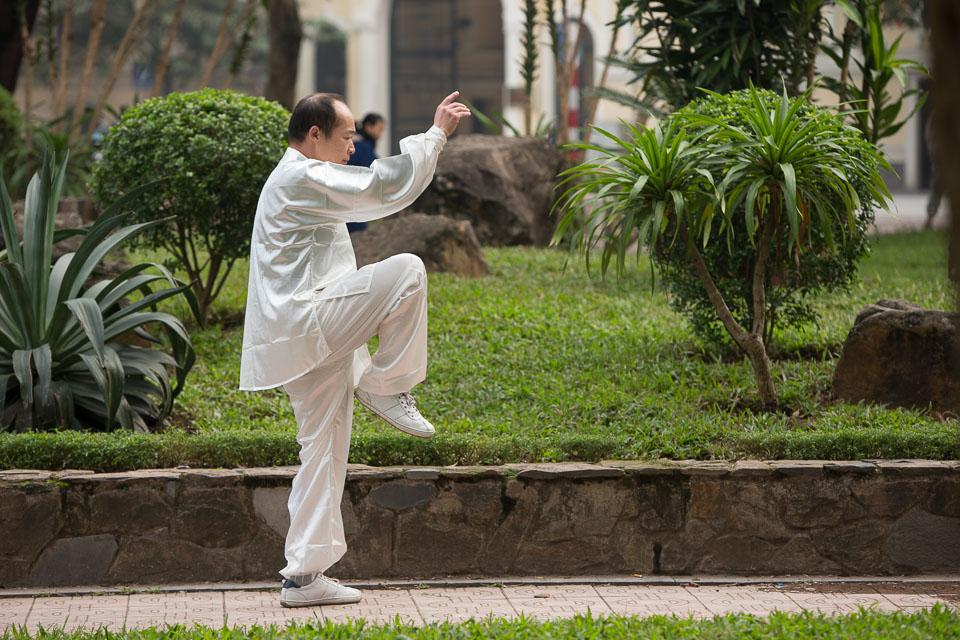 """""""Morning Exercise in Hanoi"""" by Neil Cordell"""